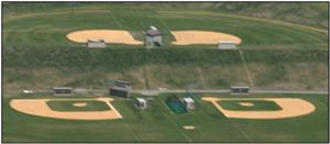Ariel photo of Harry K. Sickler Athletic Fields