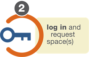 Login to create a facility use request