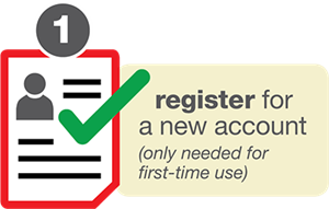 Register for a facility use account