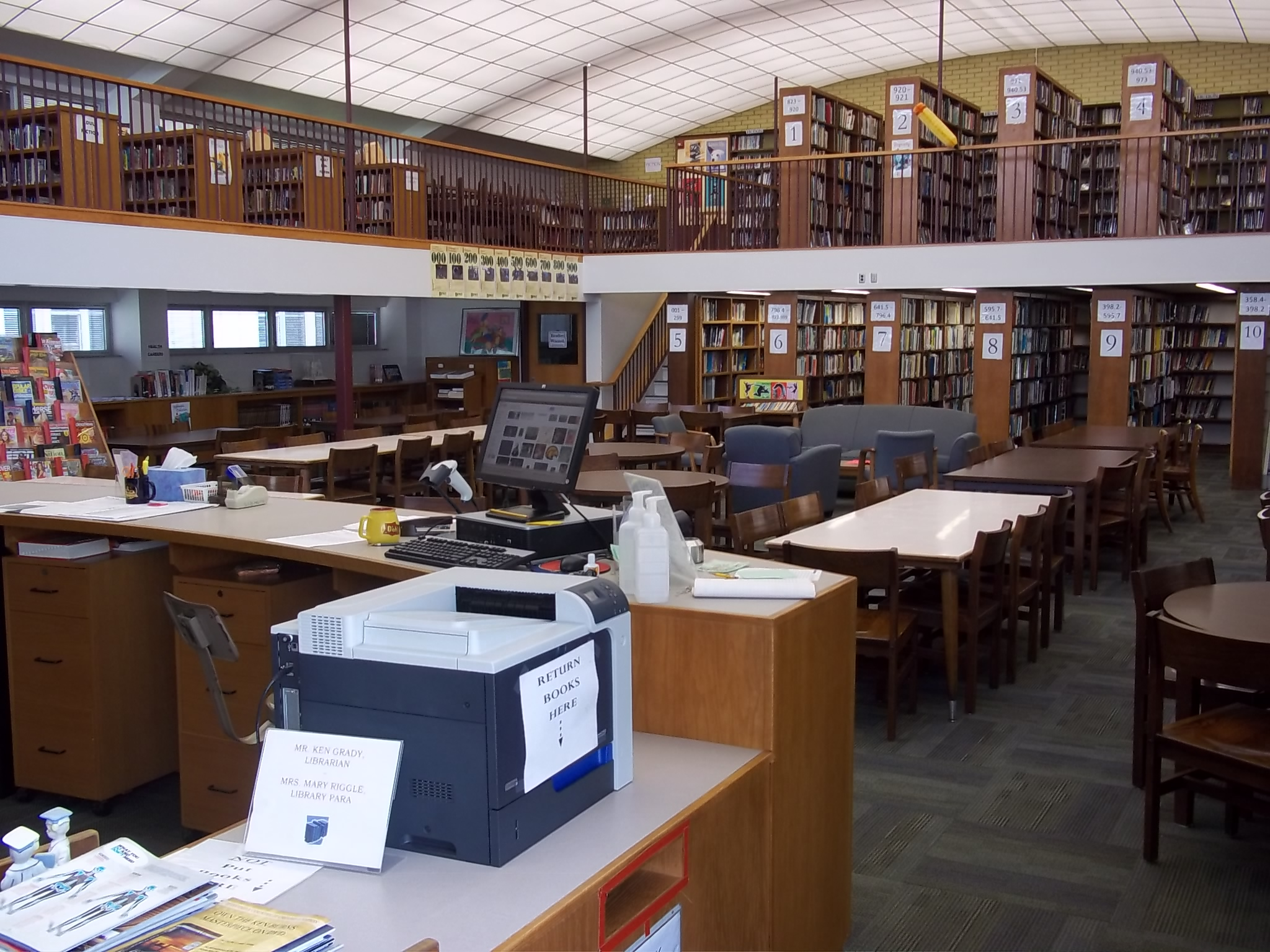 Tyrone Middle & High School Library