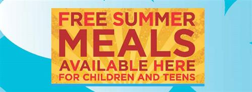 Free Summer Meals Available Here